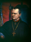 Portrait of Gregor Mendel