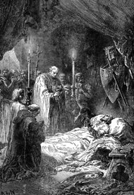 Death of French king Louis IX