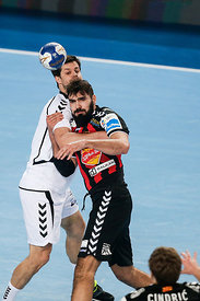 Jorge MAQUEDA of Vardar during the Final Tournament - Final Four - SEHA - Gazprom league, semi finals match, Varazdin, Croati...