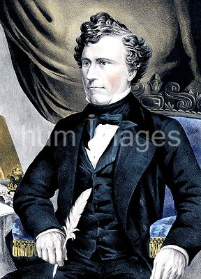 General Franklin Pierce fourteenth president of the United States ca 1853