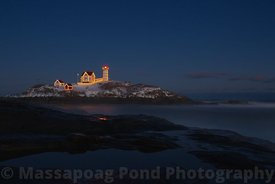 Snowy  Nubble Lighthouse