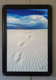 Footprints in the Sand 24x36