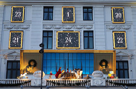 Christmas at Hotel D'angleterre