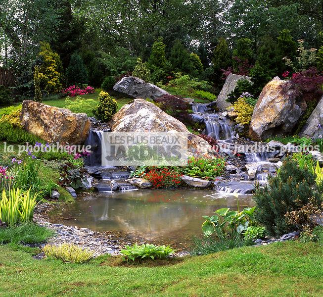 la photothèque | LES PLUS BEAUX JARDINS | Bassin, Rocaille, Cascade ...