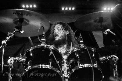 Dustin Boltjes, drummer with Skeletonwitch, Ace of Spades, Sacramento
