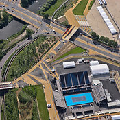 Aerial View Of The Eton Manor, London