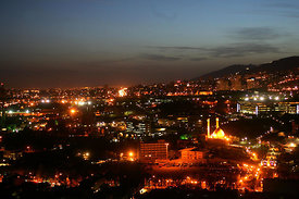 Iran-Tehran skyline With a population of an estimated 15 million, Greater Metropolitan Tehran ranks as one of the world's lar...