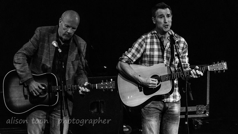 Eric Sedge and Richard Digance, Kinder Shores concert and CD launch