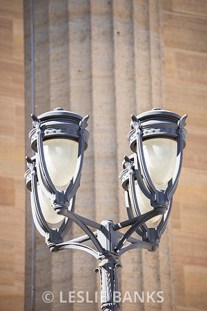 Lamppost at the Philadelphia Art Museum
