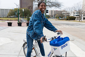 Pace Bike Share Launch 2019