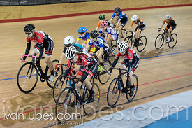 U17 Women Elimination Race. Canadian Track Championships (U17/Junior), April 3, 2016