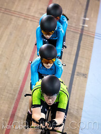 U17 Women Team Pursuit. Ontario Track Championships, March 4, 2018