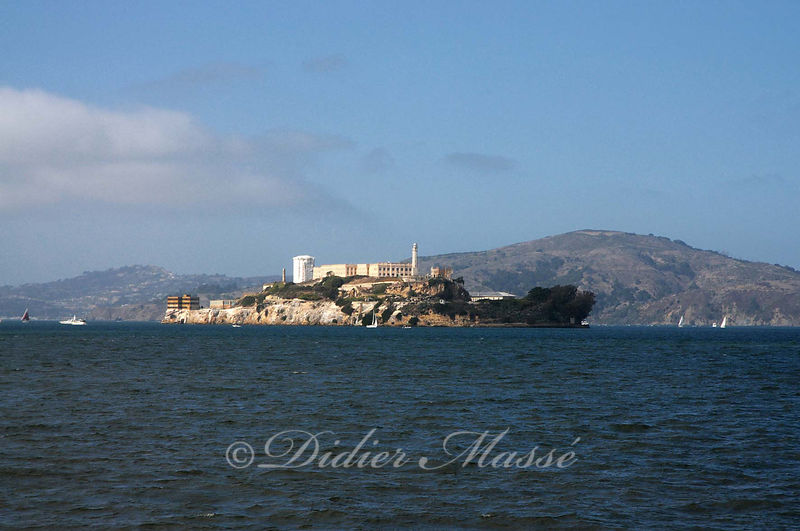 L'Ile d'Alcatraz San Francisco Californie USA 10/12