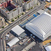 Aerial View Of The Basketball Arena, London