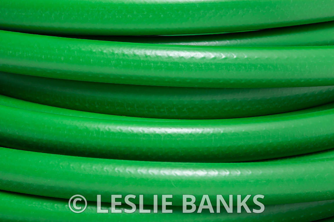 Green Garden Hose Background