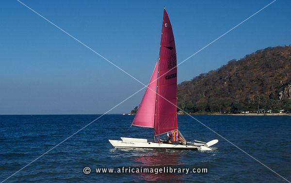boating, Lake Malawi, Malawi