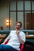 UK - London - Neil Borthwick, chef at The Merchant's Tavern in Shoreditch