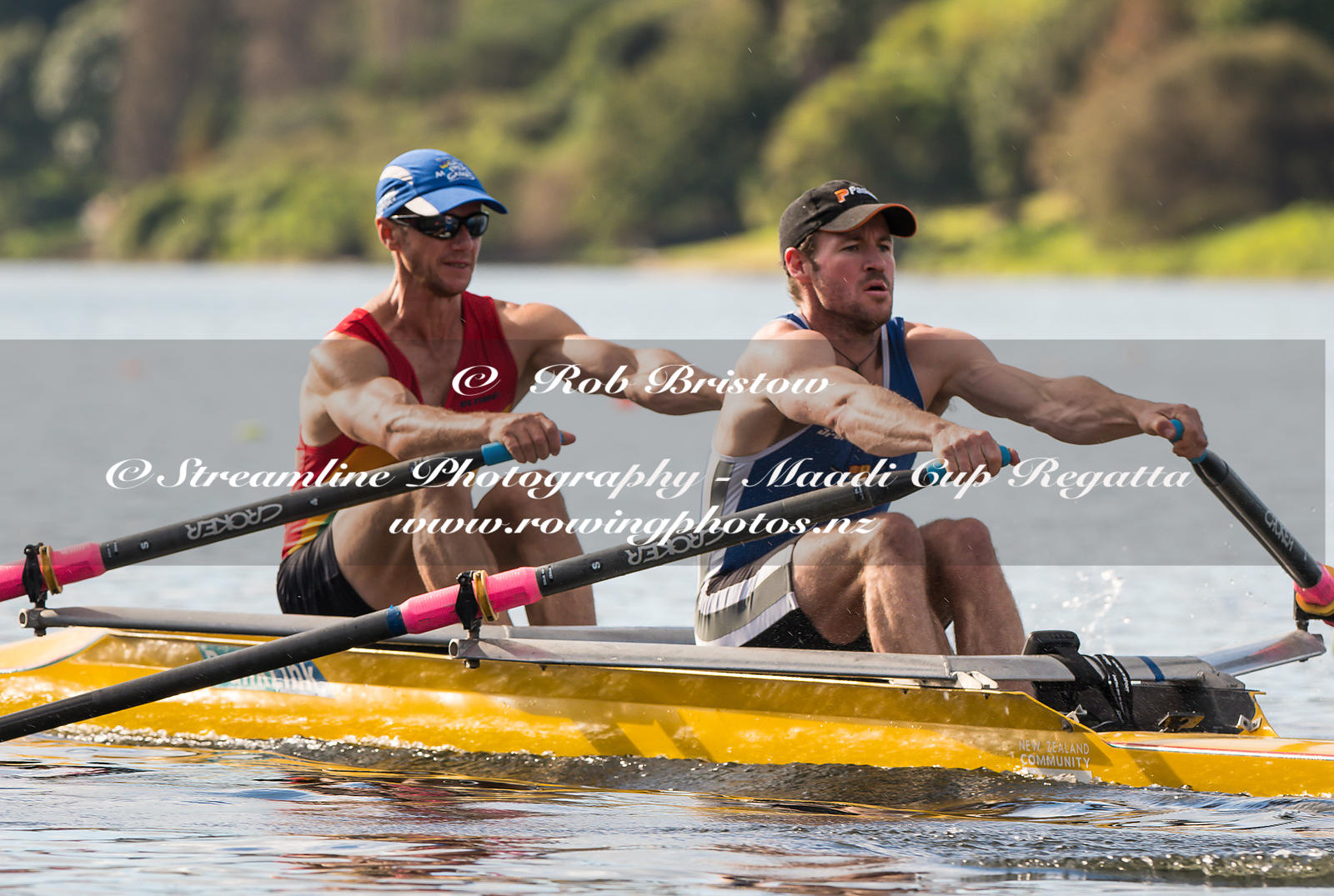 Taken during the World Masters Games - Rowing, Lake Karapiro, Cambridge, New Zealand; Tuesday April 25, 2017:   5749 -- 20170...