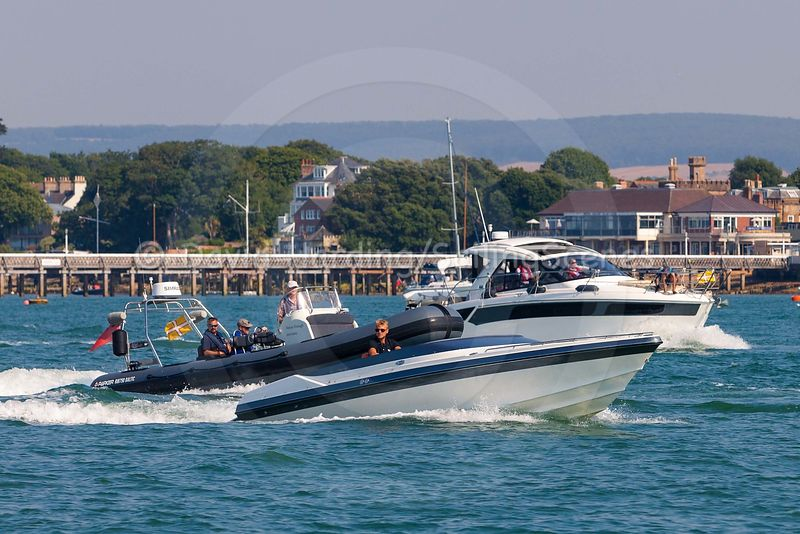 PARKSTONE BAY MARINA RALLY TO YARMOUTH, JULY 2018