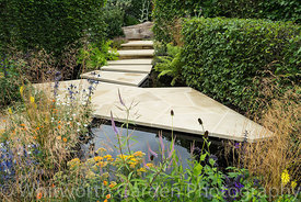 The RHS Watch This Space Garden at the RHS Hampton Court Flower Show 2017. Designer: Andy Sturgeon. © Rob Whitworth