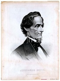 Confederate President Jefferson Davis