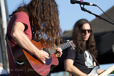 SACRAMENTO, 5TH OCTOBER 2014: Kurt Vile and the Violators, performing at TBD Fest, West Sacramento.