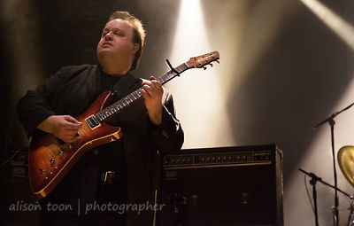 Steve Rothery, guitar, Sunday of the Marillion UK weekend, 2013, Wolverhampton