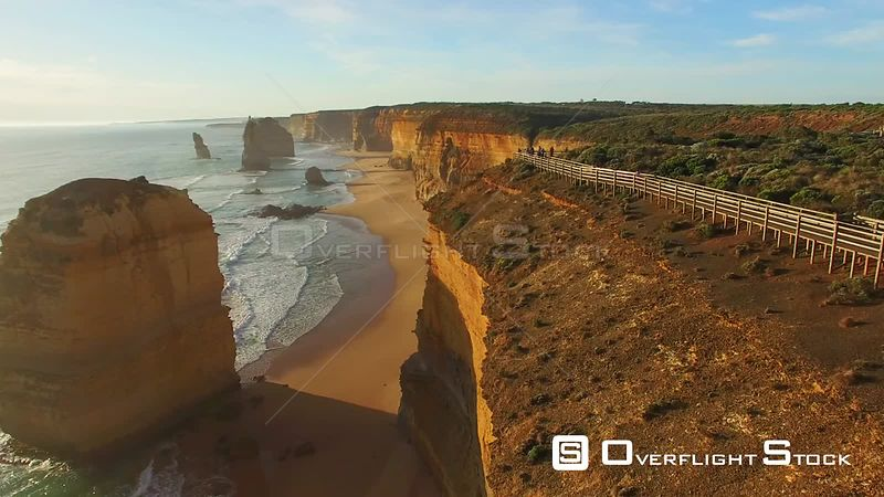 Twelve Apostles Beach and Scenic at Dawn  Victoria, Australia