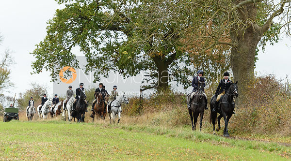 The Cottesmore Hunt at Somerby