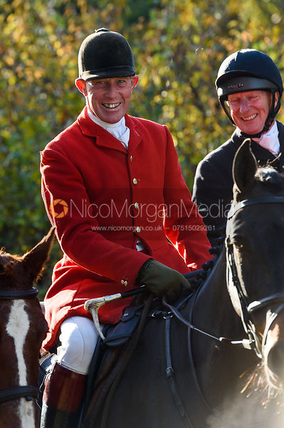 David Manning near Woolsthorpe. The Belvoir Hunt at the Kennels 13/11
