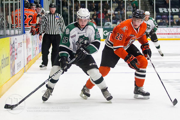Cedar Rapids Roughriders vs Omasha  Lancers November 3, 2012
