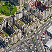Aerial View Of The Olympic Village, London