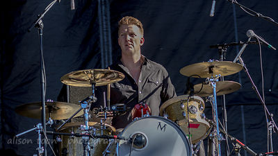 Josh Homme, drums, Eagles of Death Metal