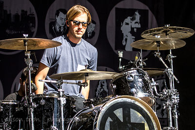 Brooks Wackerman, drums, Bad Religion, Aftershock 2014