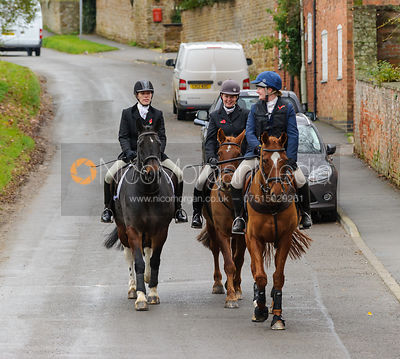 The Cottesmore Hunt at Manor House, Tilton on the Hill 9/11