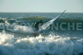 windsurf ‡ la pointe Saint Gildas