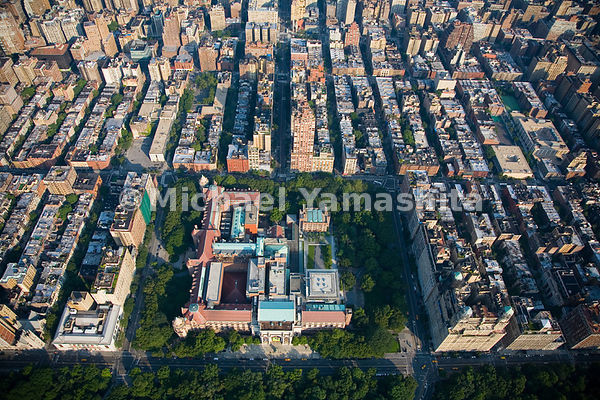The American Museum of Natural History dominates the block between West 77th and West 81st Streets.  The New York Historical ...