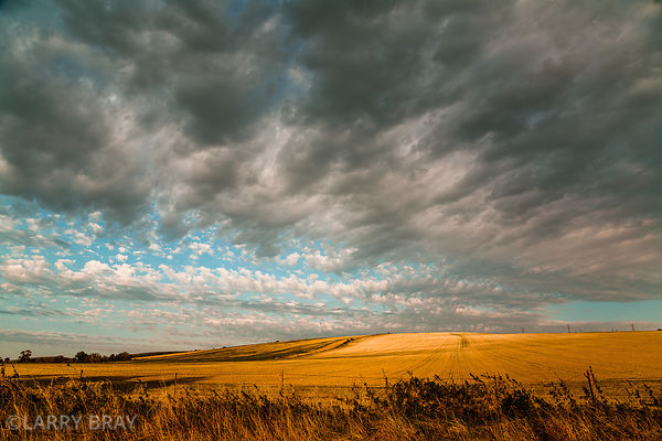 Moody sky over a hill at the end of the day in Shoreham-by-Sea, West Sussex,UK.  This photo was the main image for the openin...