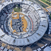 Aerial View Of The London Olympic Park Stadium,  London