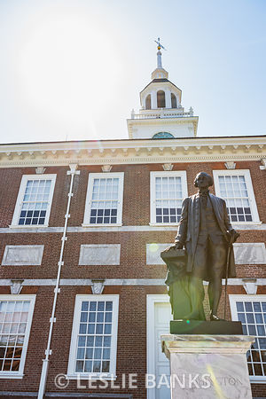 George Washington at Independence Hall