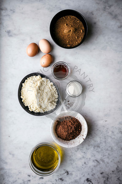 Flourless Chocolate Almond Cake Ingredients