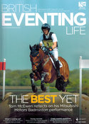 Tom McEwen at Badminton for British Eventing Life