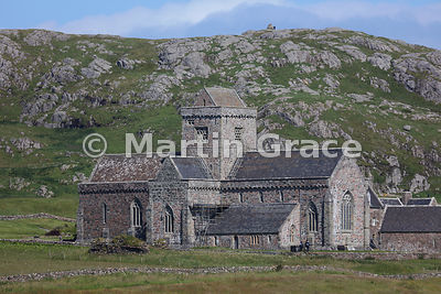 Iona Abbey (early 13th C), Isle of Iona, Inner Hebrides, Scotland