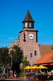 Eglise de Solvang (village Danois) Californie USA 10/12