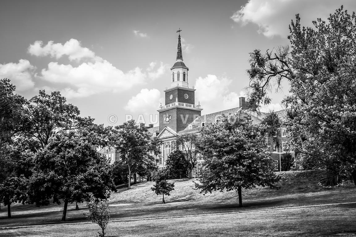McMicken College Black and White Picture