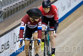 U17 Men Sprint 3-4 Final. Ontario Track Championships, March 3, 2018