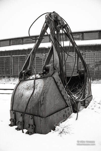 Nevada Northern Railway shovel bucket