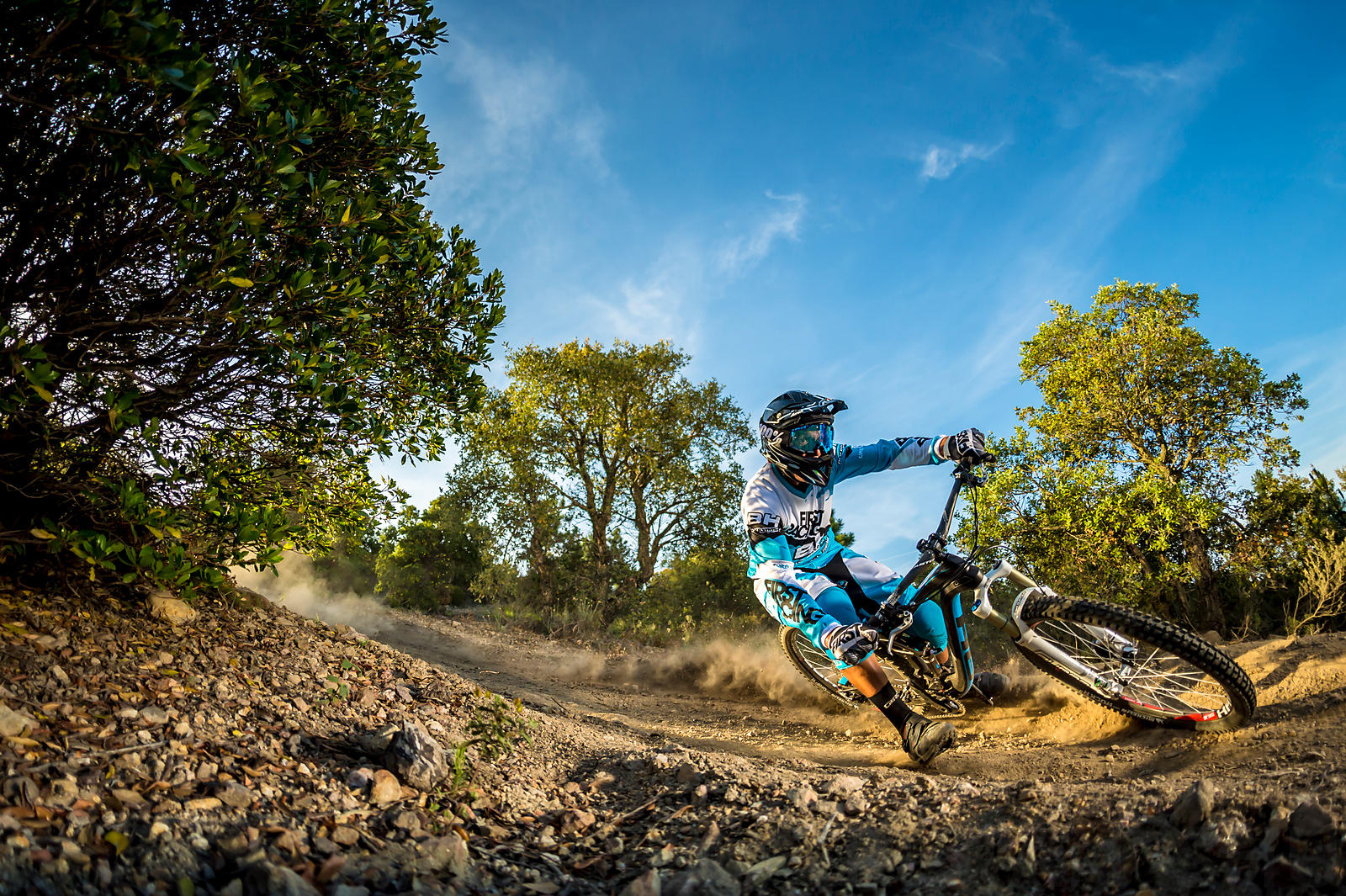 In the dirt with Karim Amour