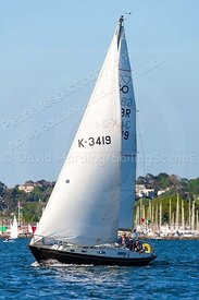 Binkie II, GBR3419, Contessa 32, Parkstone Monday Night Cruiser Series, 20180514006