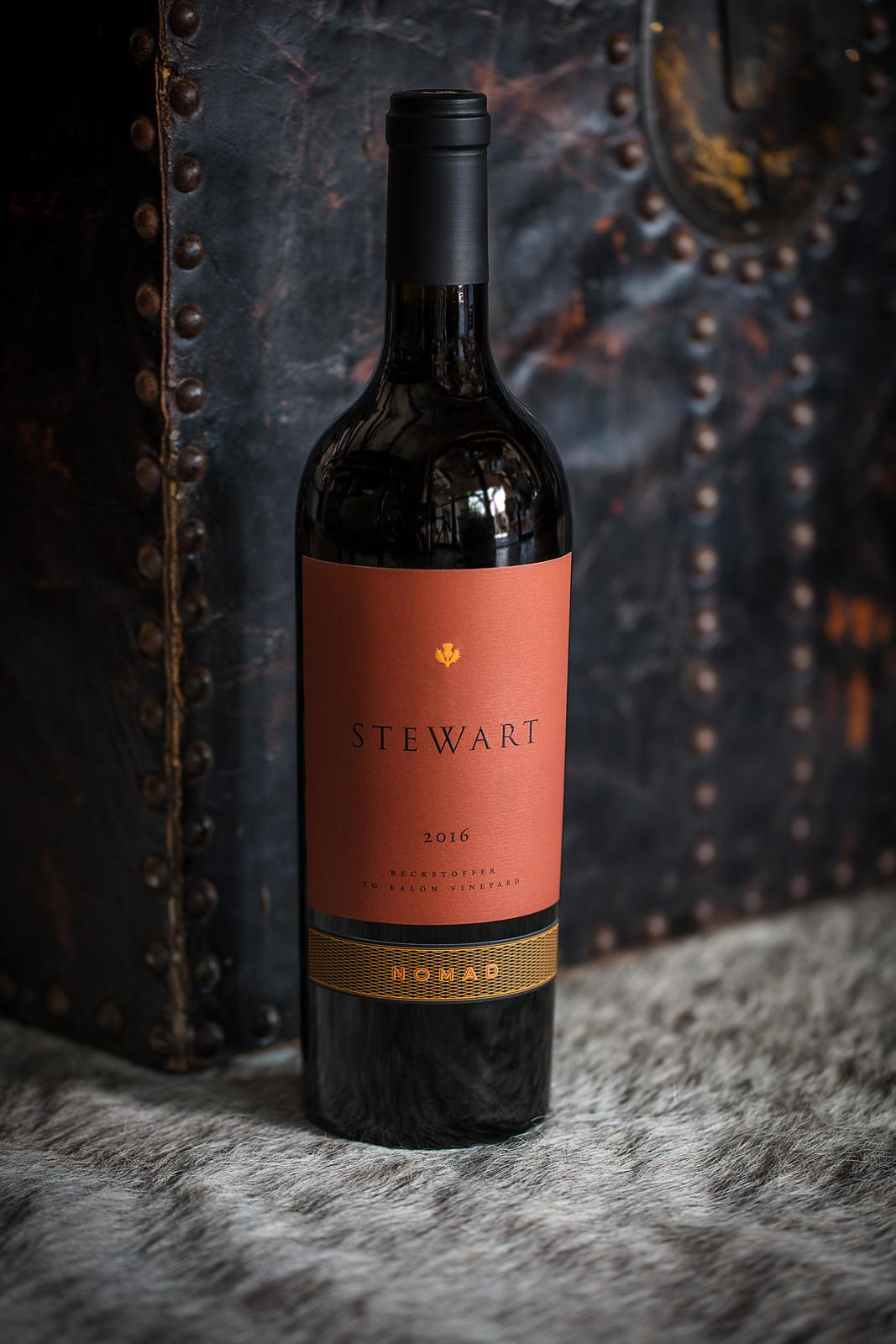 Wine beauty and lifestyle photography for Stewart Cellars in Yountville, Napa County by Jason Tinacci